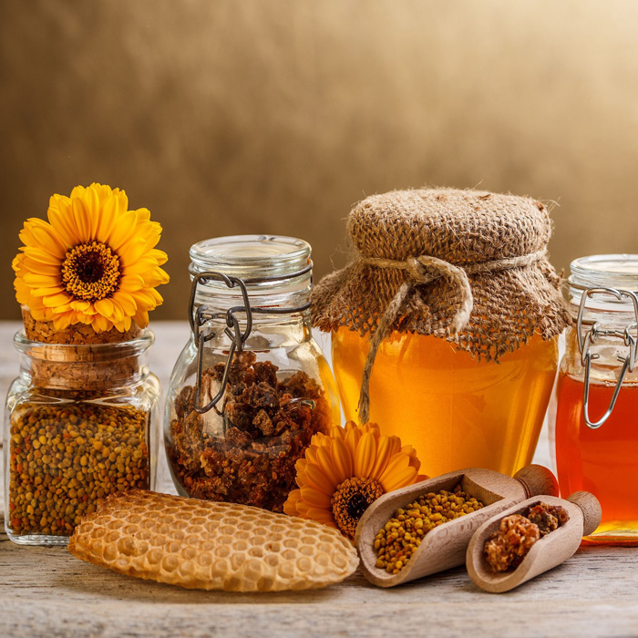 ADR Exports - Home Page - Banner - Honey